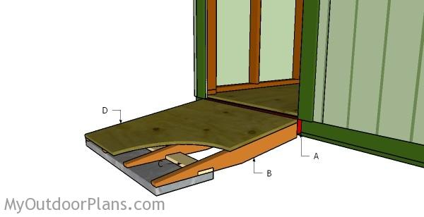 shed ramp plans myoutdoorplans