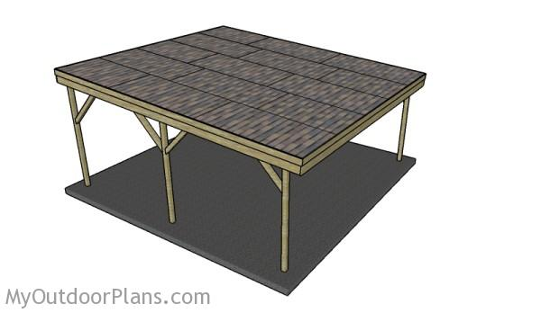 2 Car Carport Plans Myoutdoorplans Free Woodworking Plans And