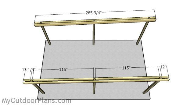 Flat Roof Carport Plans Myoutdoorplans Free Woodworking Plans