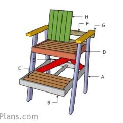 How To Build A Lifeguard Chair Papasan Accessories Plans Myoutdoorplans Free Woodworking And Building