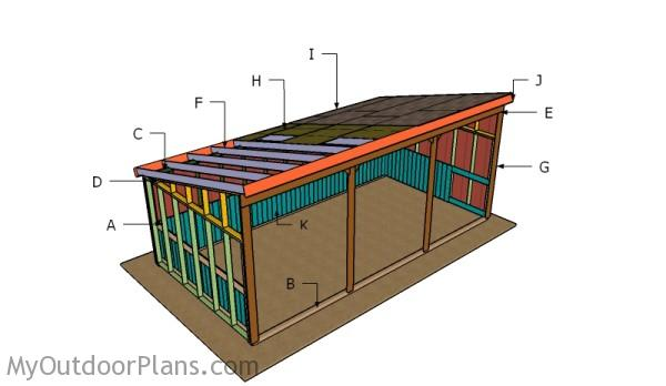 How Build Shed Roof