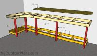 Garage Workbench Plans | MyOutdoorPlans | Free Woodworking ...