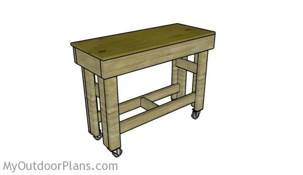 Small Workbench Plans Myoutdoorplans Free Woodworking