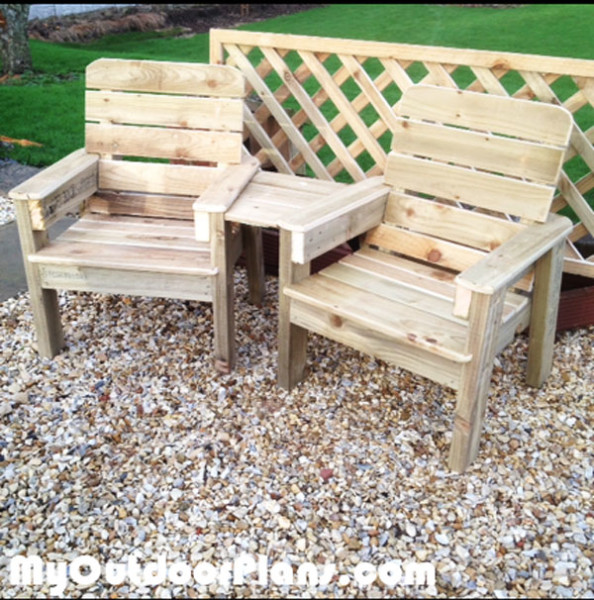 adirondack wooden chair plans wheelchair store diy jack and jill set   myoutdoorplans free woodworking projects, shed ...