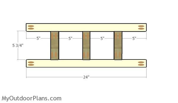 Chalkboard Coat Rack Plans