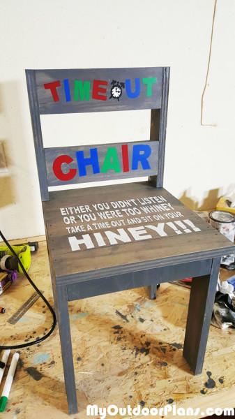 DIY Childs TimeOut Chair  MyOutdoorPlans  Free