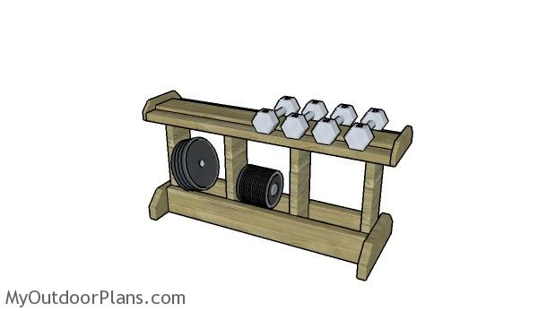 Weight Rack Plans MyOutdoorPlans Free Woodworking Plans And Projects DIY Shed Wooden