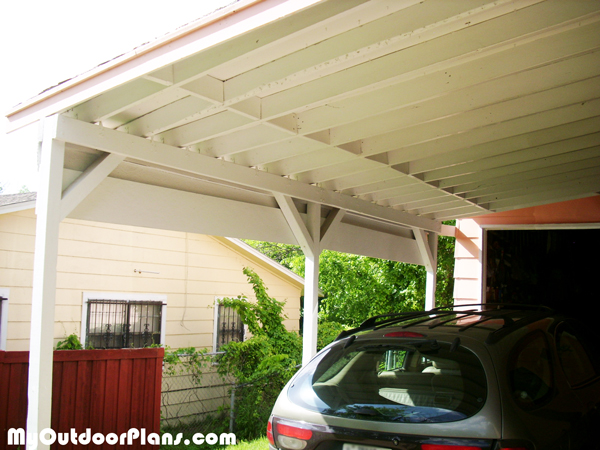 DIY Carport Attached To House MyOutdoorPlans Free