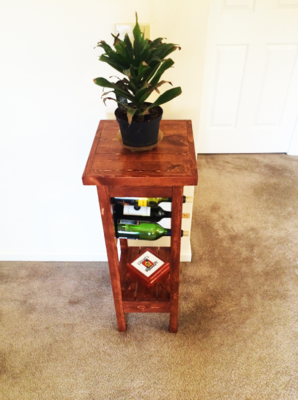 Diy Plant Stand With Wine Rack Myoutdoorplans Free