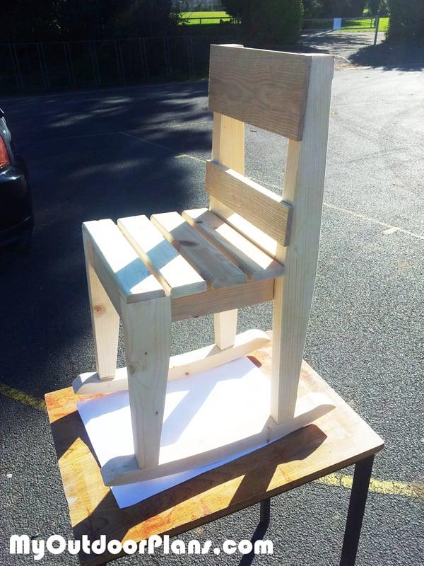 DIY Kids Rocking Chair Plans  MyOutdoorPlans  Free