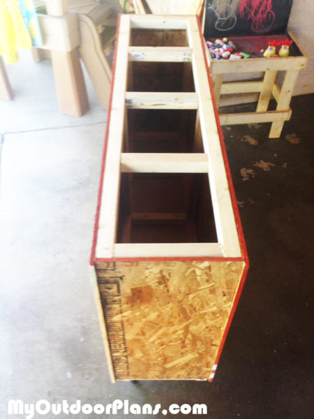 Diy Lumber Storage Cart Myoutdoorplans Free