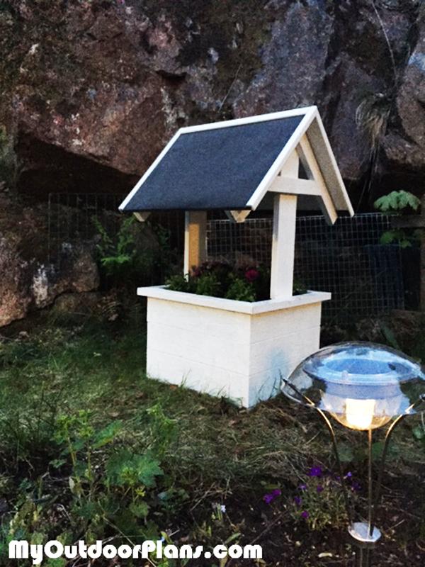 Wishing Well Planter Box Myoutdoorplans Free