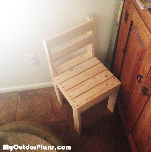 DIY Kids Time Out Chair  MyOutdoorPlans  Free