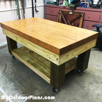 Heavy Duty Work Bench Plans