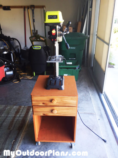 Diy Drill Press Stand Myoutdoorplans Free Woodworking