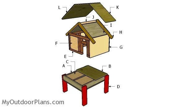 Making Wooden Shed
