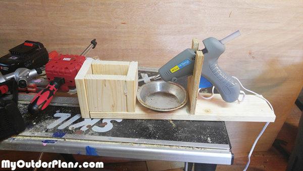 Diy Hot Glue Gun Holder Myoutdoorplans Free