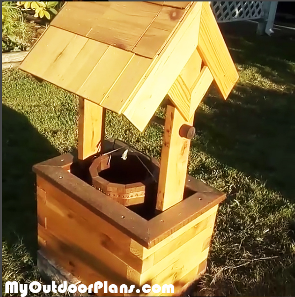 DIY Wishing Well Planter Plans MyOutdoorPlans Free Woodworking Plans And Projects DIY Shed