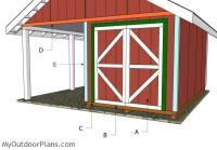 6' Double Shed Doors Plans | MyOutdoorPlans | Free ...