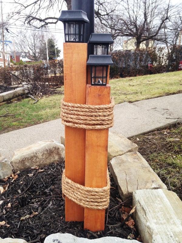 Diy Nautical Lantern Post Myoutdoorplans Free