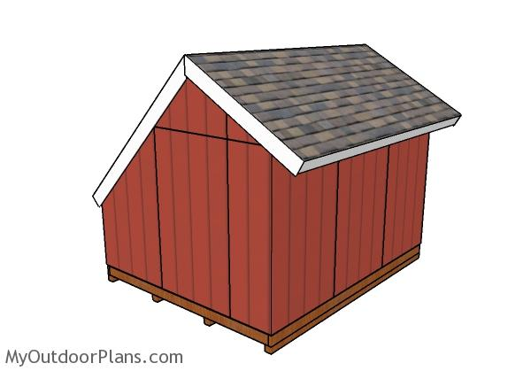 10x12 greenhouse shed roof plans myoutdoorplans free, 10x12 pergola roof plans