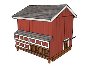 Large Chicken Coop Nesting Boxes Plans | MyOutdoorPlans | Free Woodworking Plans and Projects