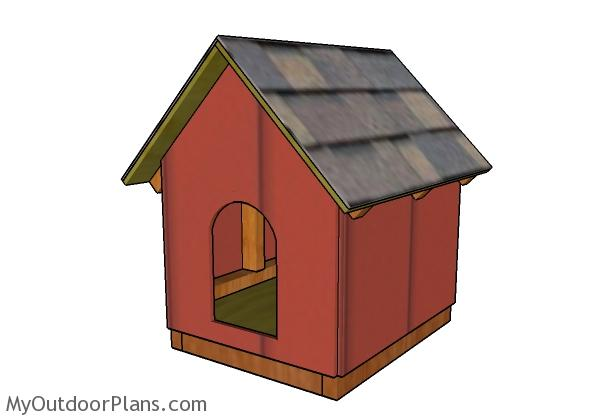 Dog House Plans For Small Dogs Myoutdoorplans Free Woodworking Plans And Projects Diy Shed Wooden Playhouse Pergola Bbq