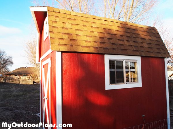 DIY 8x12 Barn Shed  MyOutdoorPlans  Free Woodworking Plans and Projects DIY Shed Wooden