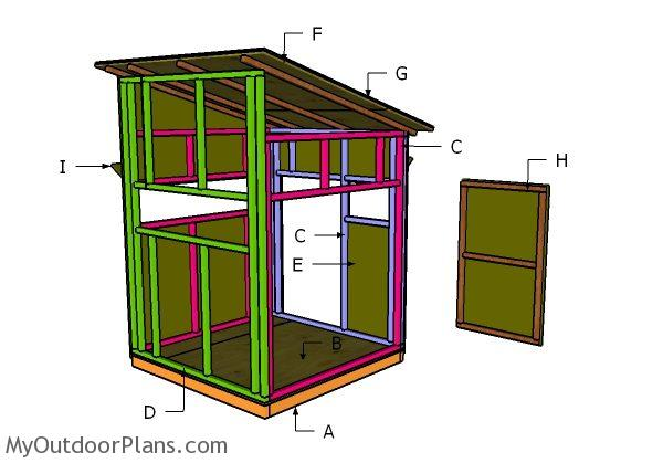 Animals X Shooting House Roof Plans