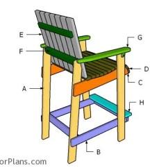 Adirondac Chair Plans Wicker High Back Bar Height Adirondack Myoutdoorplans Free Building A