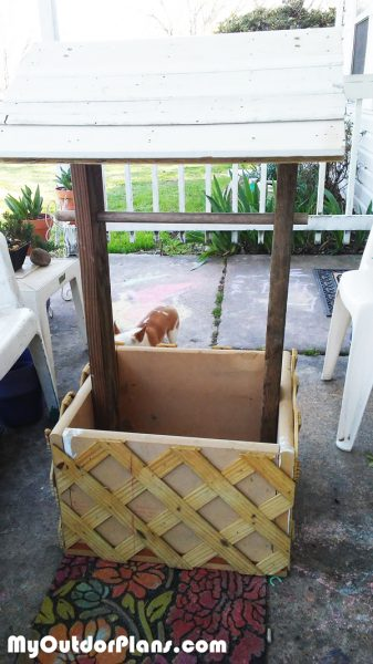DIY Wood Wishing Well Planter MyOutdoorPlans Free Woodworking Plans And Projects DIY Shed