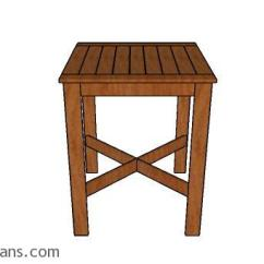 Wooden Adirondack Chair Sears High Chairs Baby Bistro Table Plans | Myoutdoorplans Free Woodworking And Projects, Diy Shed, ...