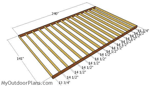 12x20 Lean To Shed Plans Myoutdoorplans Free