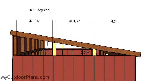 12x14 Lean To Shed Roof Plans MyOutdoorPlans Free