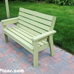 Adirondack Chair Plan Graphic Design Diy 2x4 Simple Garden Bench | Myoutdoorplans Free Woodworking Plans And Projects, Shed ...