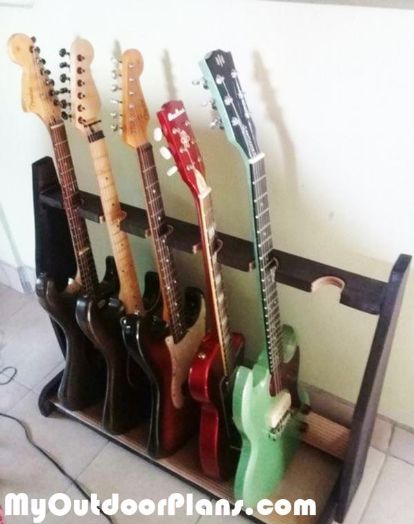 Diy Basic Wood Guitar Stand Myoutdoorplans Free