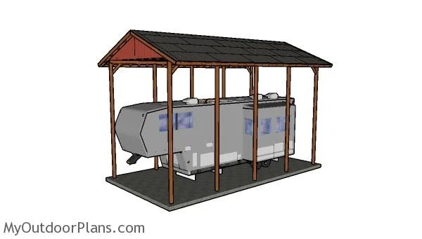 20x40 Rv Carport Plans Myoutdoorplans Free Woodworking Plans