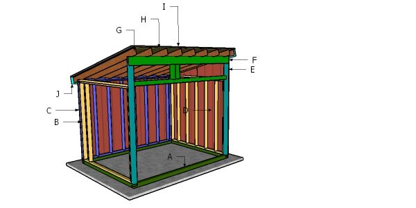 Lean Plans Roof Shed