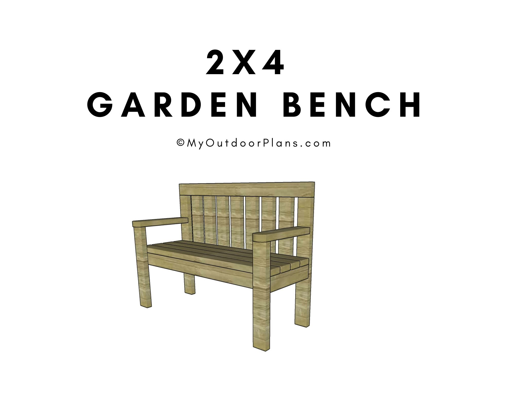 Free Woodworking Plans For A Garden Bench