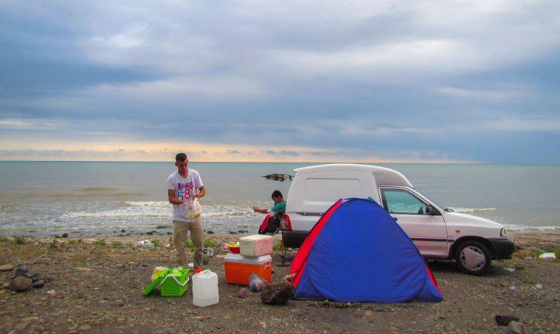 Family car camping necessities