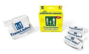 Travel John Pee Bags - Best Disposable Urine Bags