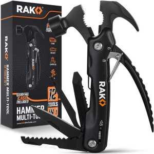 RAK Hammer Multi-Tool - Multifunctional 12 in 1 - best multi-tool for ultralight backpacking