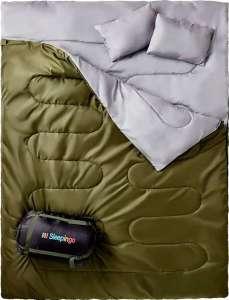 Sleepingo Double Sleeping Bag - best double sleeping bag for car camping