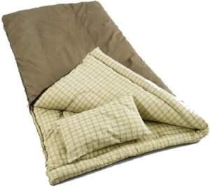 Coleman Big Game Sleeping Bag - 100% Cotton Adult Sleeping Bag, 0 Degree