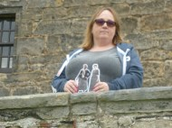 With Jamie and Claire at Aberdour Castle
