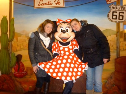 Minnie Mouse, Santa Fe Hotel, December 2012