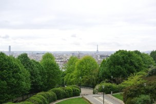 View from the Parc de Belleville