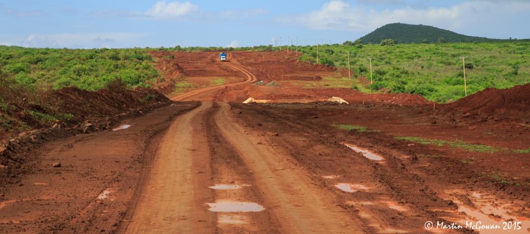 Last 35km dirt road to Marsabit