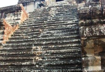 Angkor Wat Steep steps