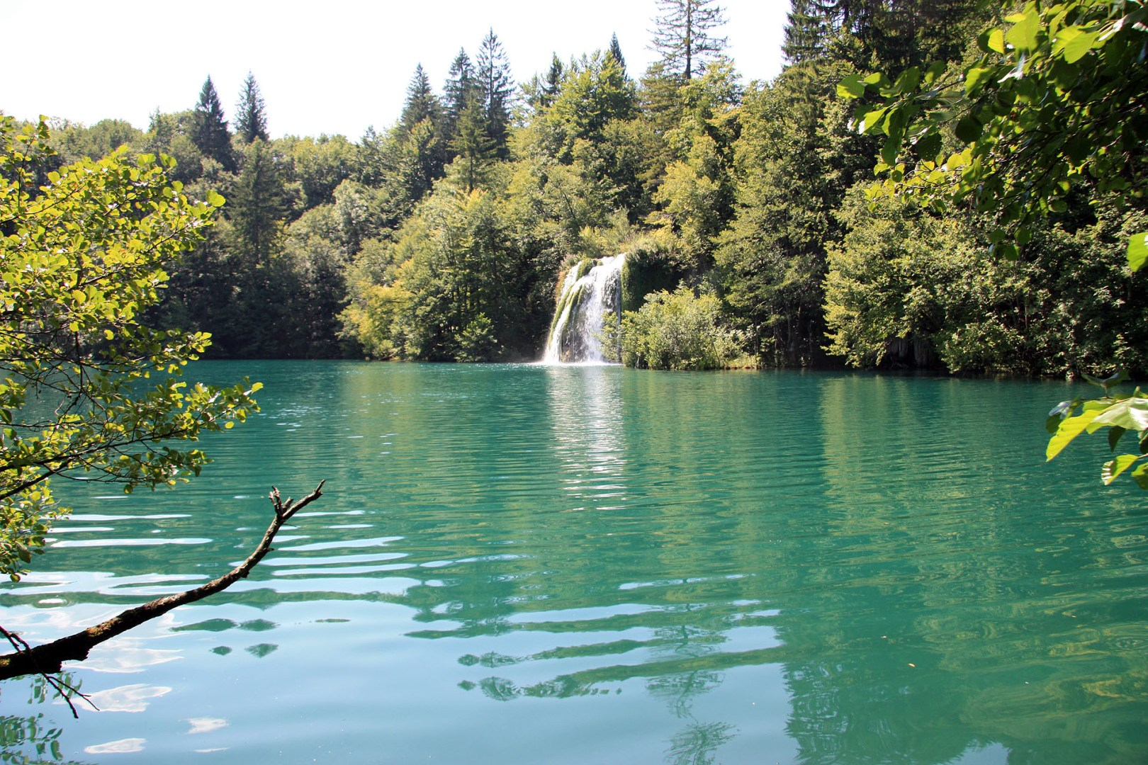Plitvice Lakes - Waterfall